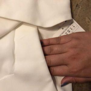 Zara Shorts - White skort